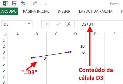 Referencia Circular no Excel - Exemplo 2