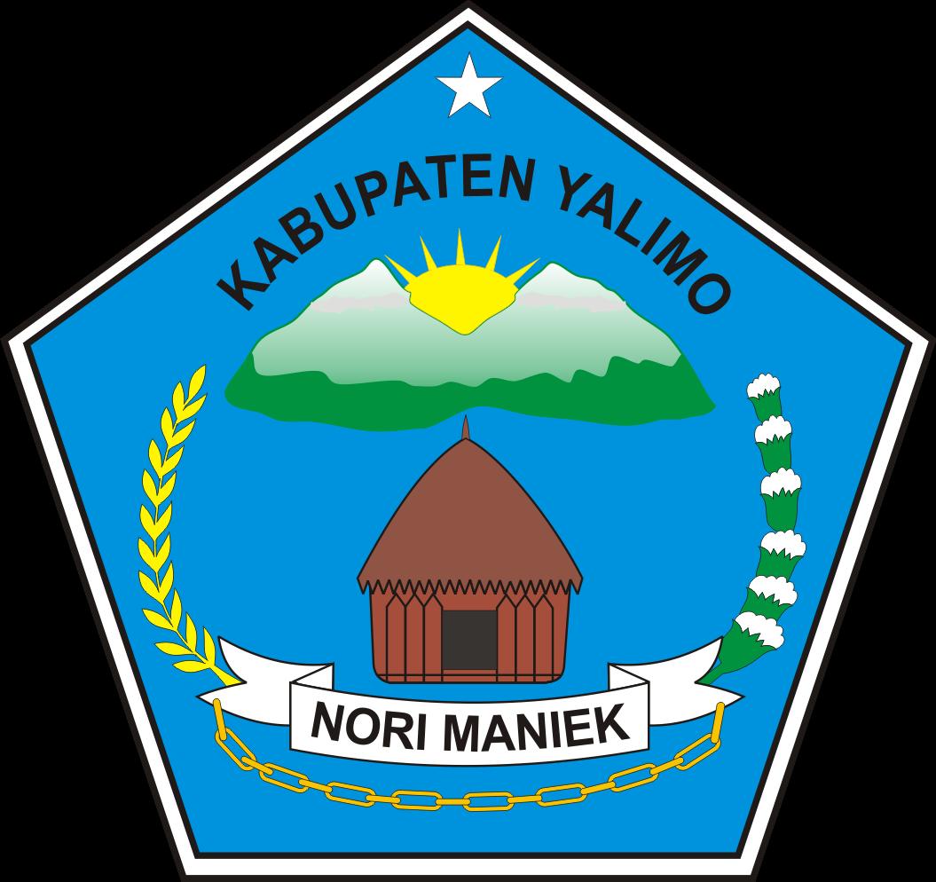 Logo Kabupaten Yalimo Provinsi Papua Logo Lambang Indonesia