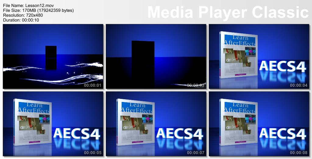 Adobe After Effects Cs4 Classroom In A Book Dvd
