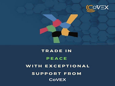 Trade in peace con CoVEX