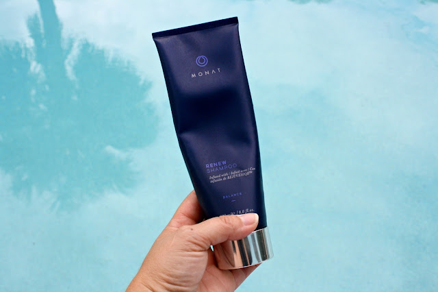 monat hair balance treatment system renew shampoo