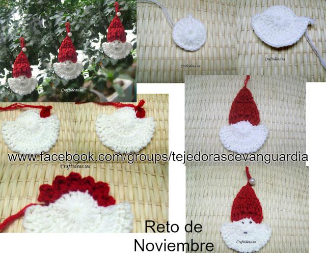 como-tejer-cara-de-Santa-Claus-a-crochet