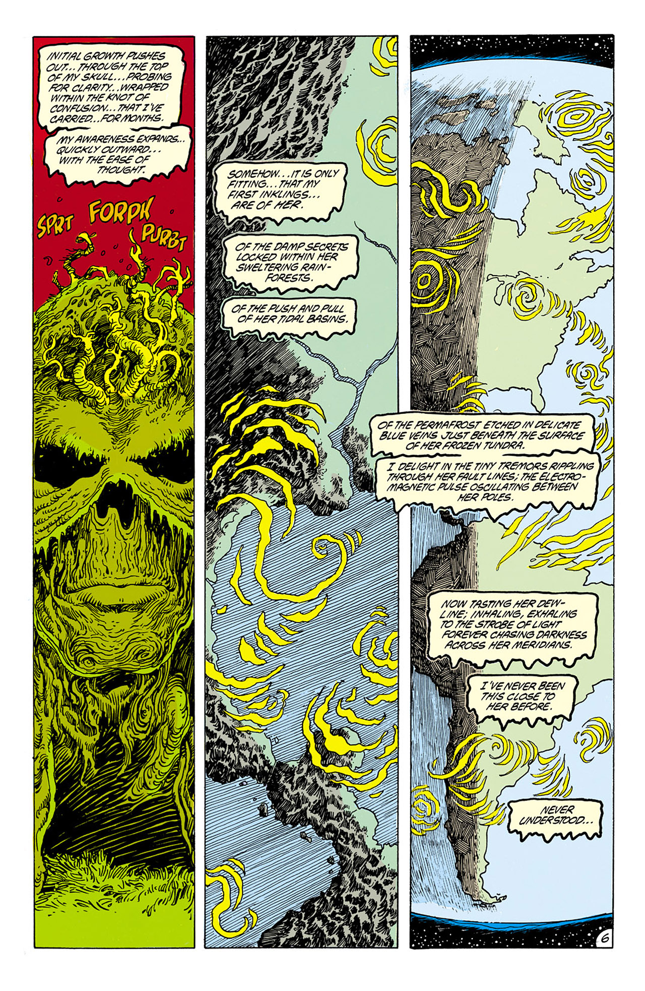 Swamp Thing (1982) Issue #75 #83 - English 7