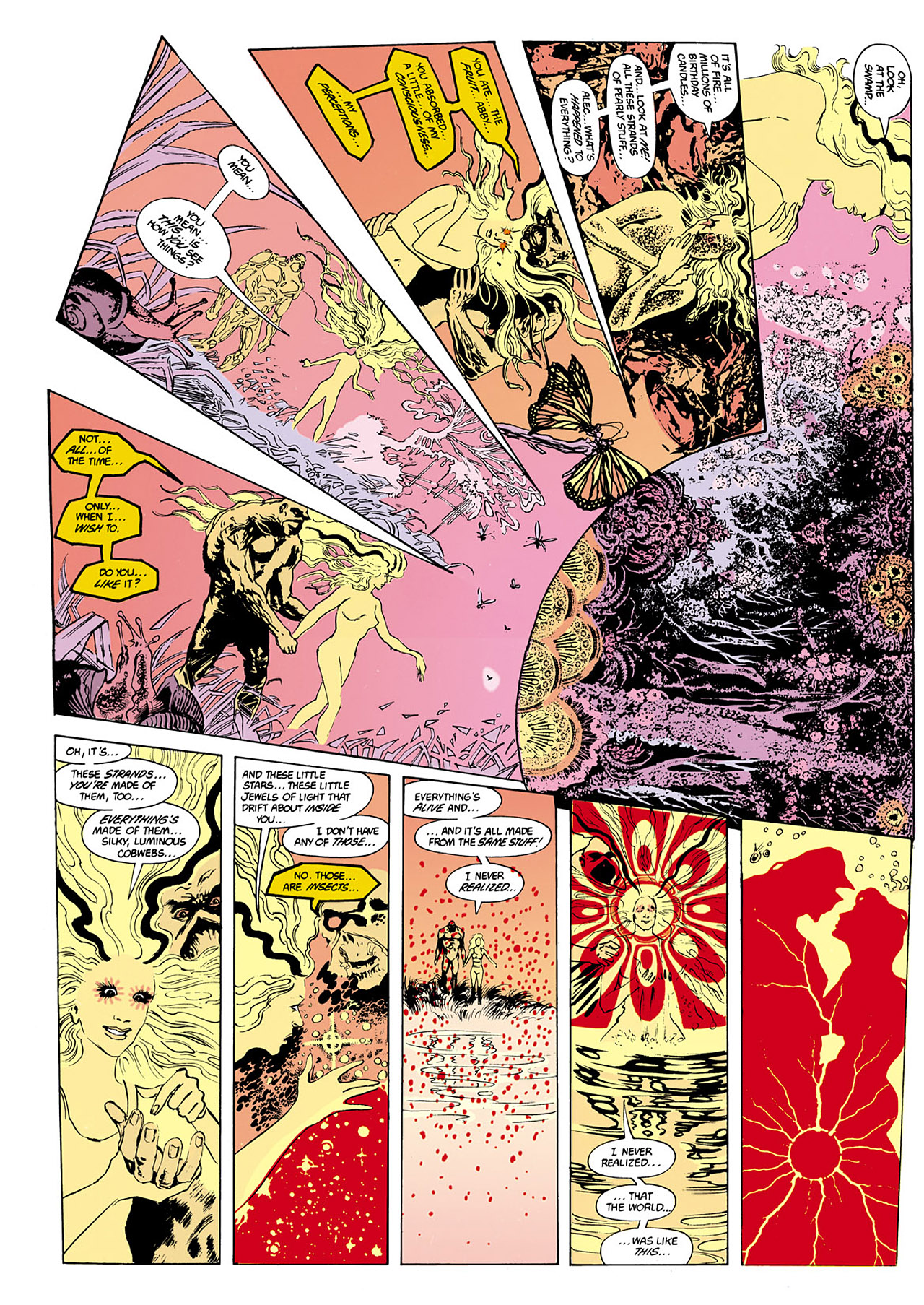 Swamp Thing (1982) Issue #34 #42 - English 12