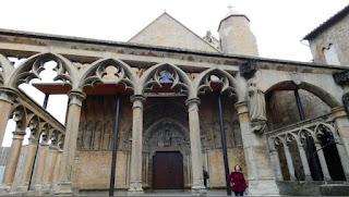 Olite, Capilla de San Jorge.