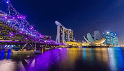 potret negara singapore