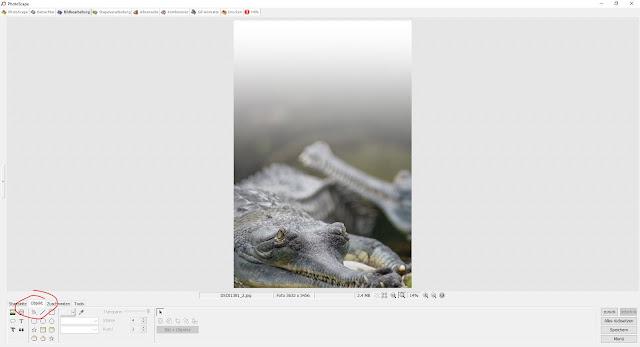 Photoscape Anleitung Bilder übereinanderlegen 2 Auswahl Reiter Objekt