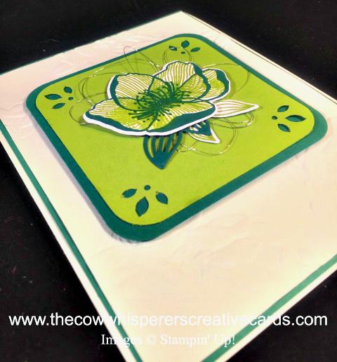 Card, Clean & Simple, Beautiful Promenade, Season Wreath Embossing Folder