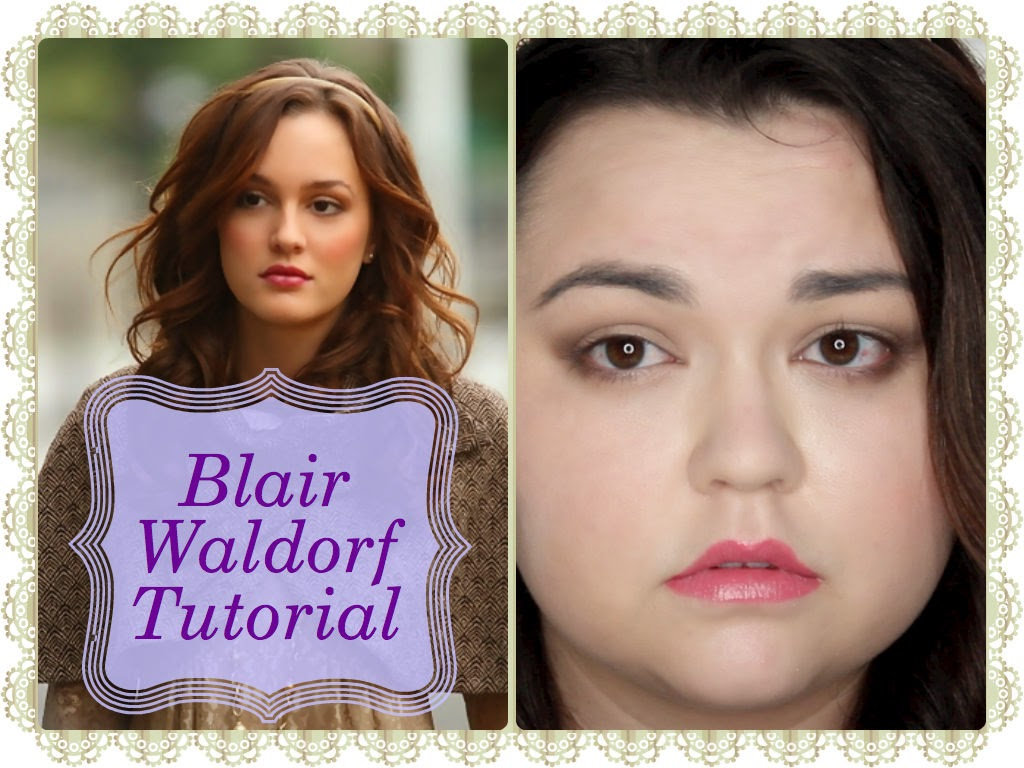 Blair waldorf makeup