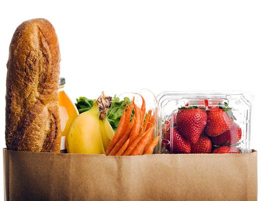 sử dụng việc in túi giấy đựng thực phẩm an toàn