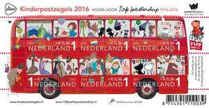 okolicznościowe znaczki holenderskiej akcji charytatywnej dzieci