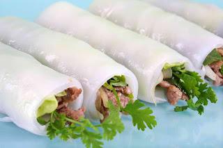 Món ăn ngon: Phở cuốn Hà Nội