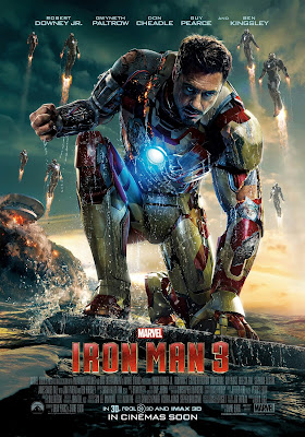 Iron Man 3 marvel film recenzja robert downey jr