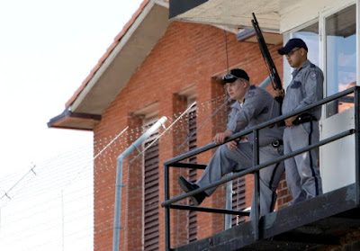"""""""The Walls"""" Unit, Huntsville, where Texas carries out its executions."""