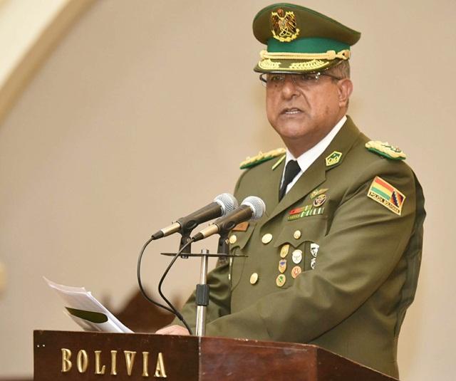 La policía en Bolivia