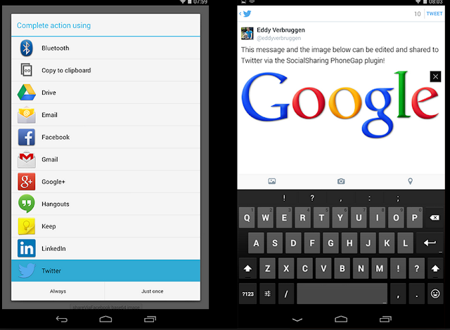 Contoh Code Cara Berbagi File di Android dengan Intent