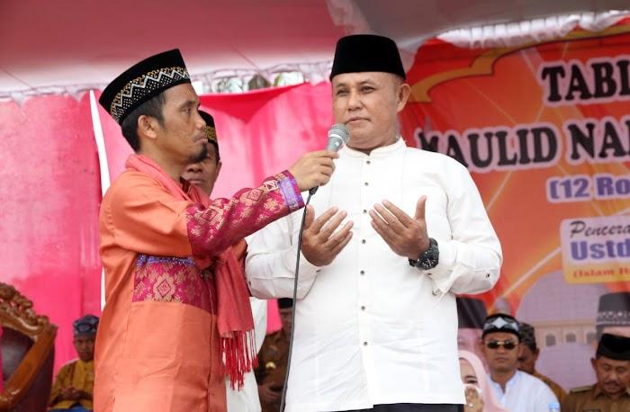 Plt Nanang Ermanto Hadiri Tabligh Akbar Bersama Ustad Maulana