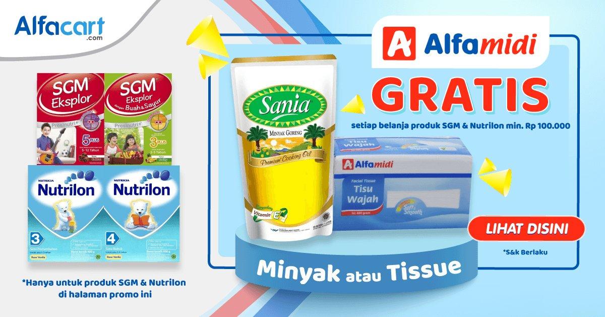 Alfamidi - Promo GRATIS Produk Cukup Belanja SGM & Nutrilon Min 100 Ribu