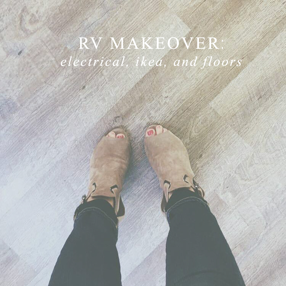 rv flooring tutorial