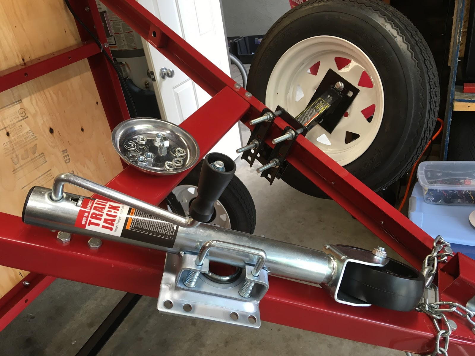 Harbor Freight Trailer Deck Height