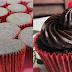 Mini cupcakes com cobertura de chocolate consistente