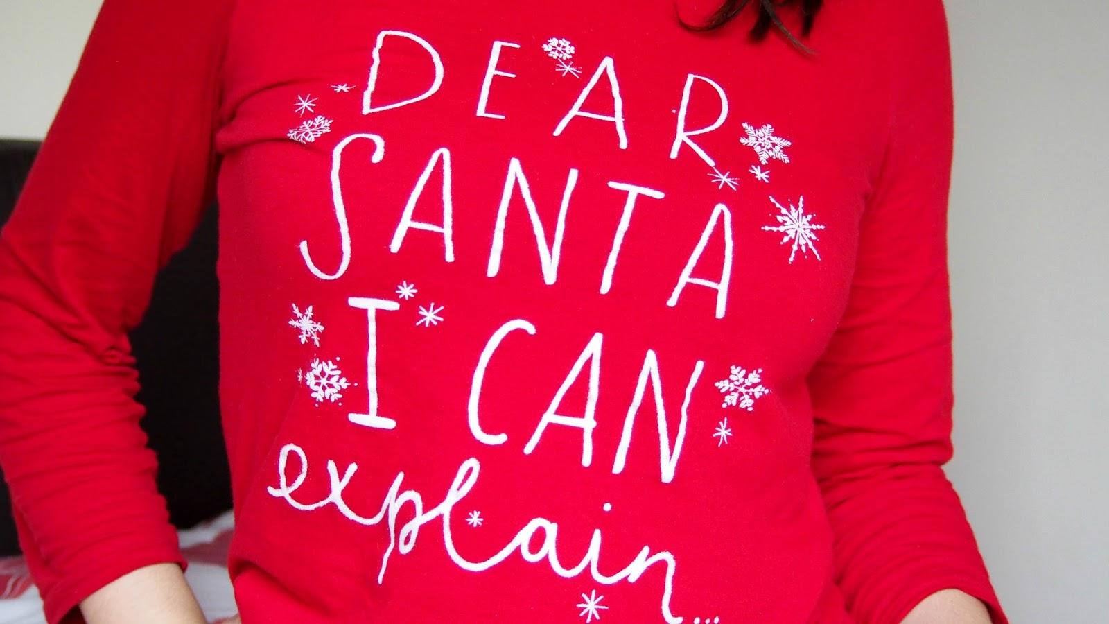 Dear Santa Pyjamas