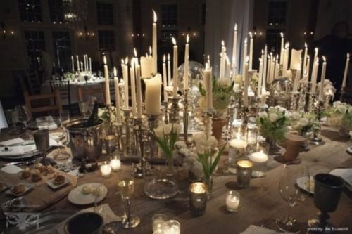 Winter Wedding Table Décor Ideas