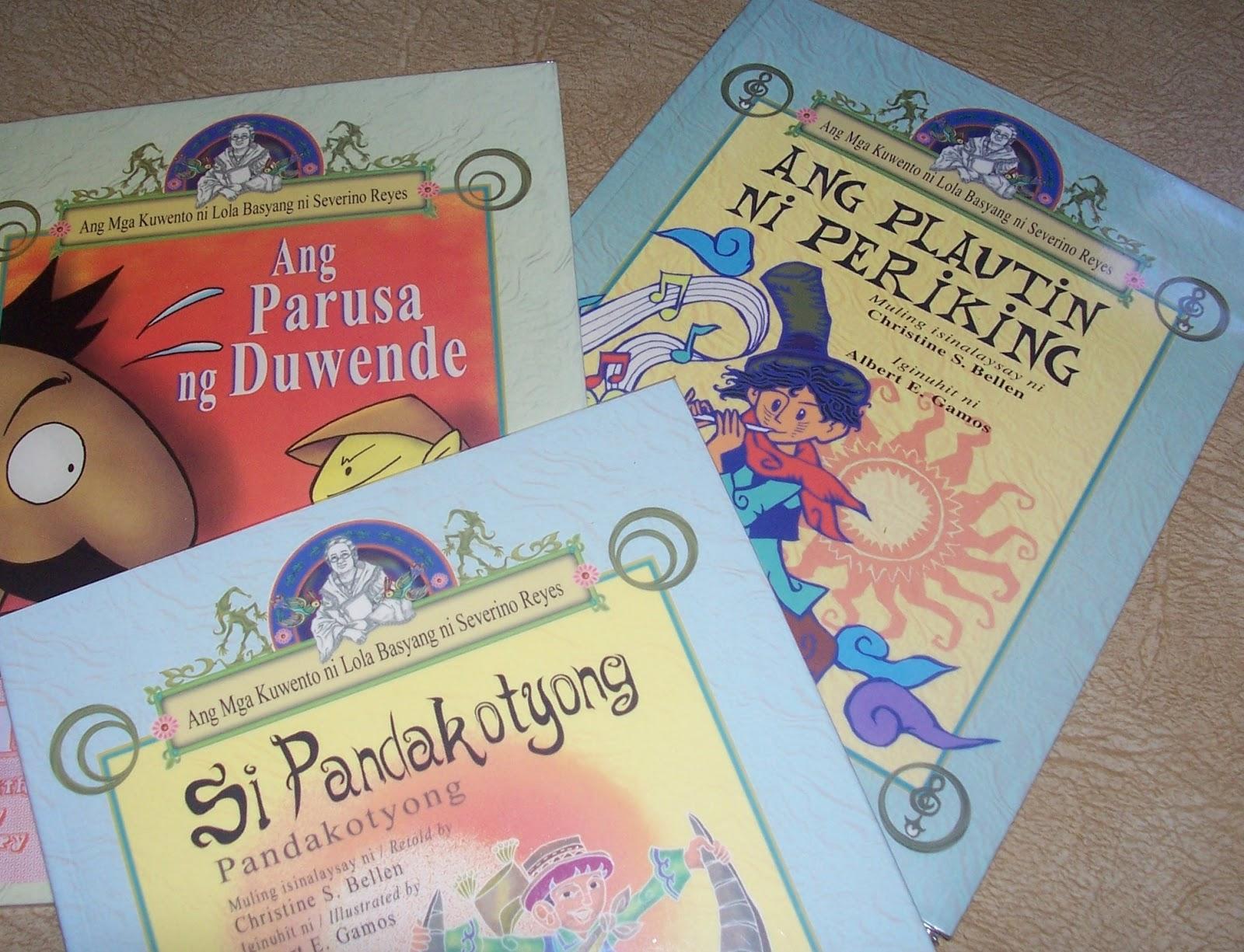 Mga Kuwento Ni Lola Basyang Book