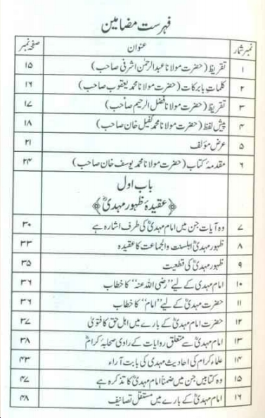 Islam Main imam e mehdi ka tasawwur pdf