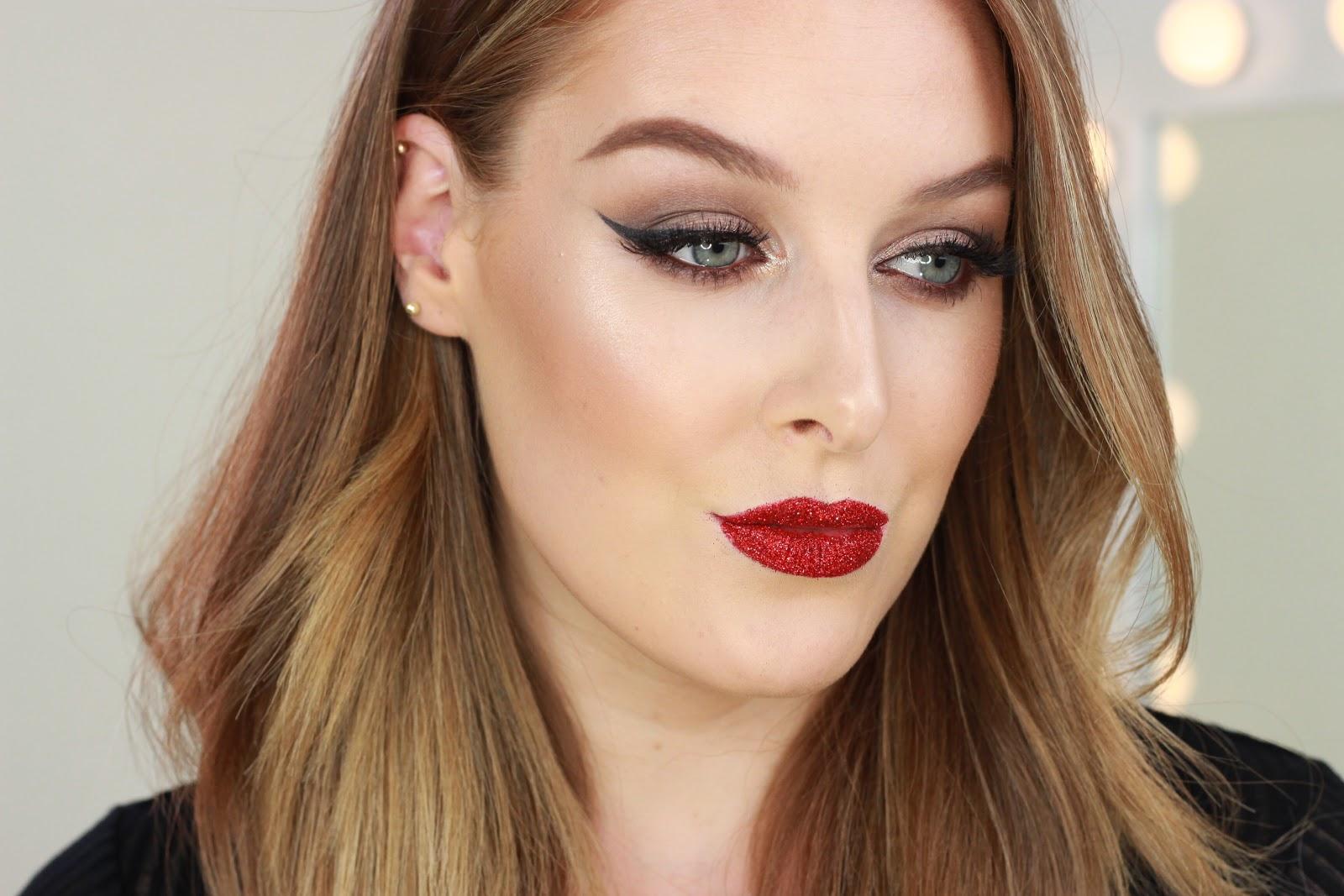 Glitter Lips Makeup Tutorial