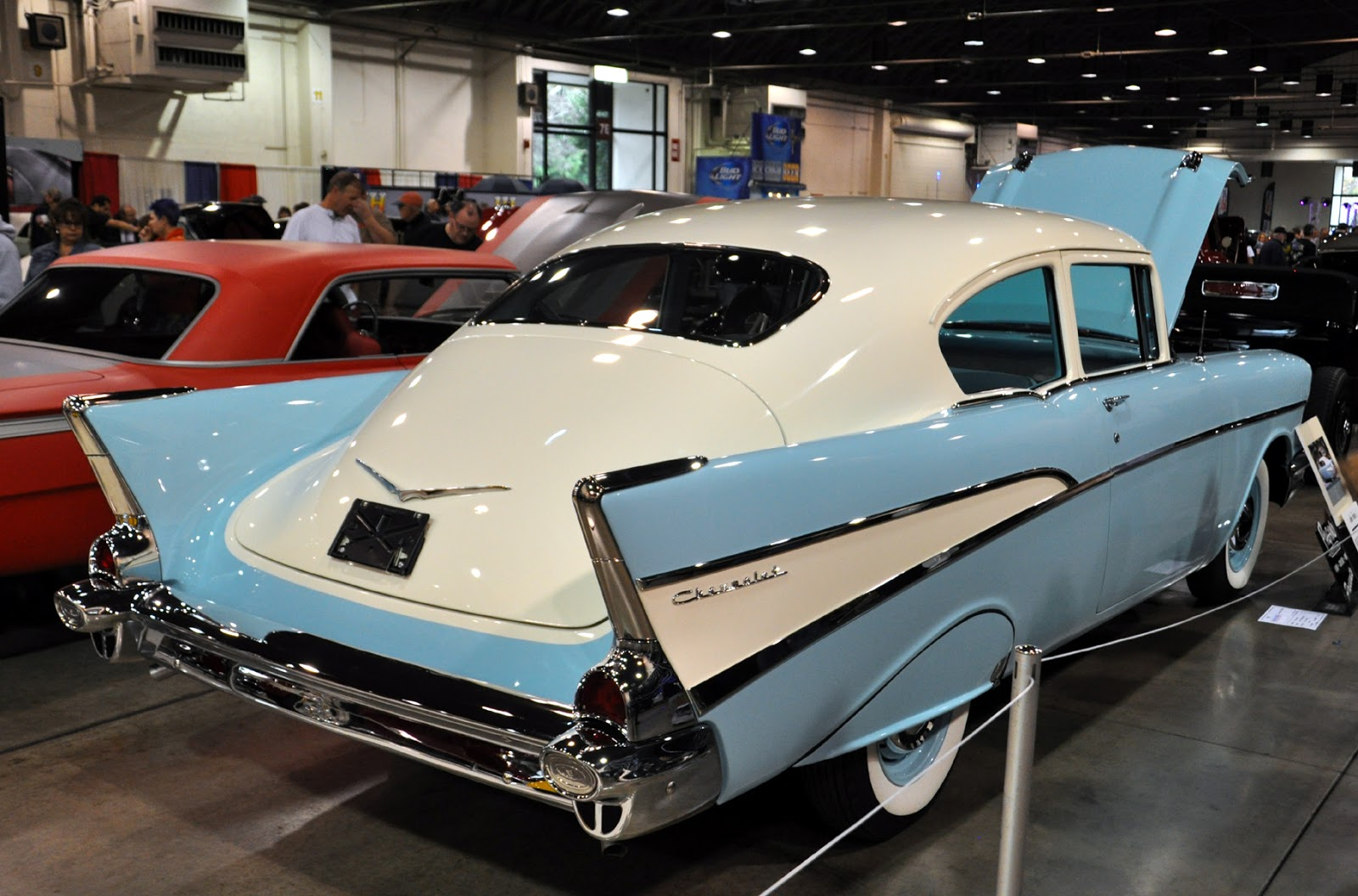 All Chevy chevy 210 : Just A Car Guy: John Poole's 1957 Chevy 210 Fleetline... a what if ...