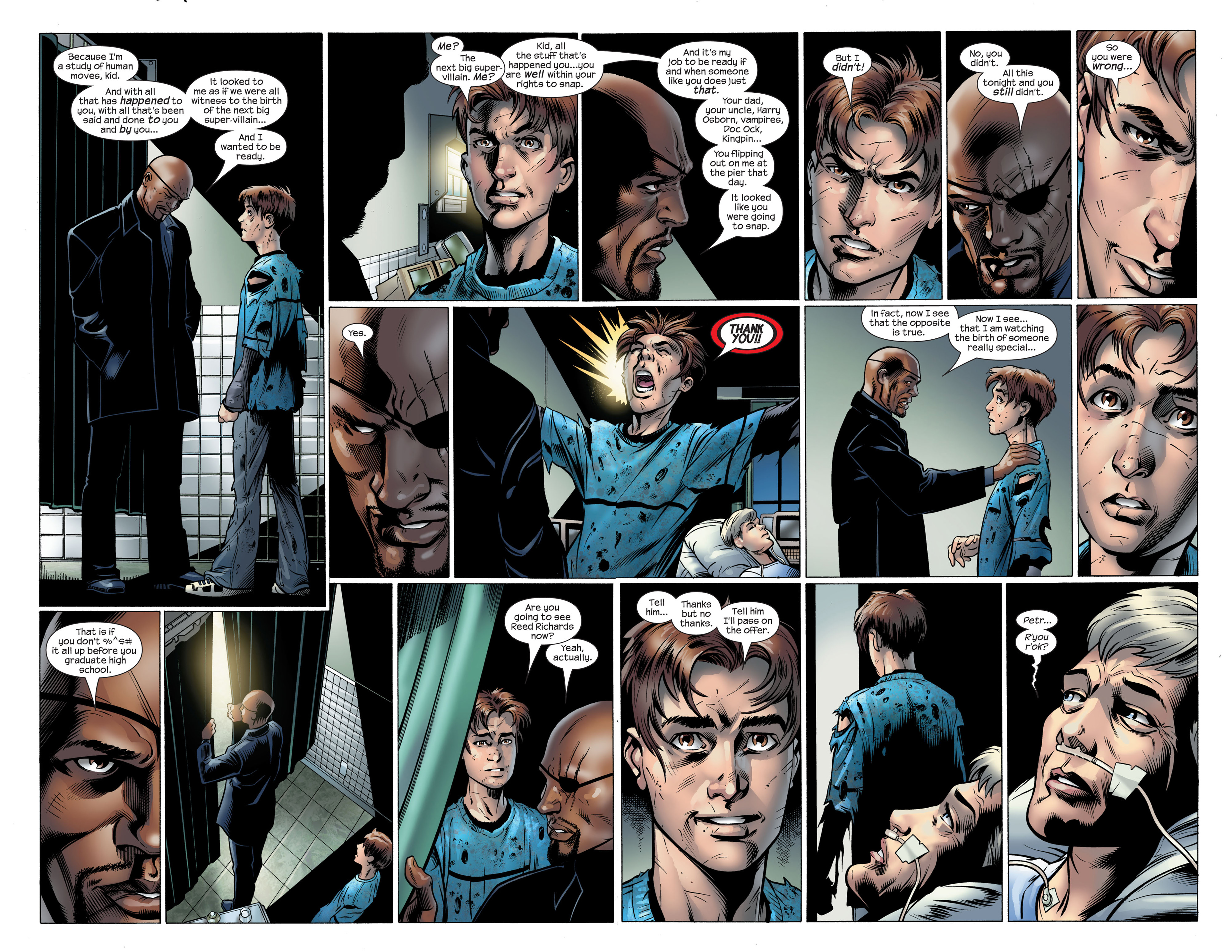Read online Ultimate Spider-Man (2000) comic -  Issue #105 - 11