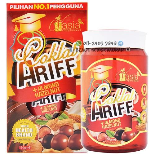 Coklat Ariff + Almond Hazelnut V'asia
