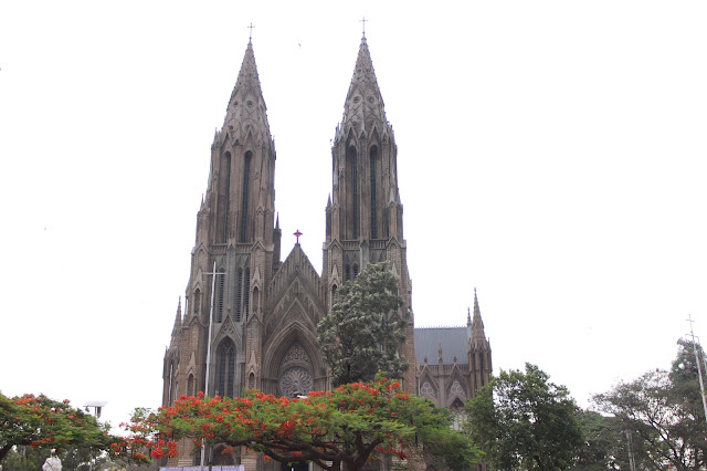 St Philomena Church Mysore, Mysore Tourism, Mysore Church, Karnataka Tourism