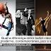 Qual a diferença entre ballet clássico, ballet moderno, contemporâneo, jazz e sapateado?