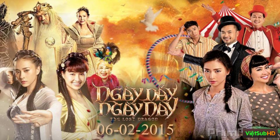 Phim Ngày Nảy Ngày Nay VietSub HD | The Lost Dragon 2015