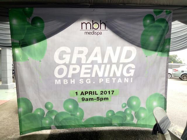 majlis pembukaan MBH Medispa Sungai Petani Kedah, MBH Medispa Sungai Petani Kedah, Spa rawatan kulit, MBH Medispa rawatan kulit