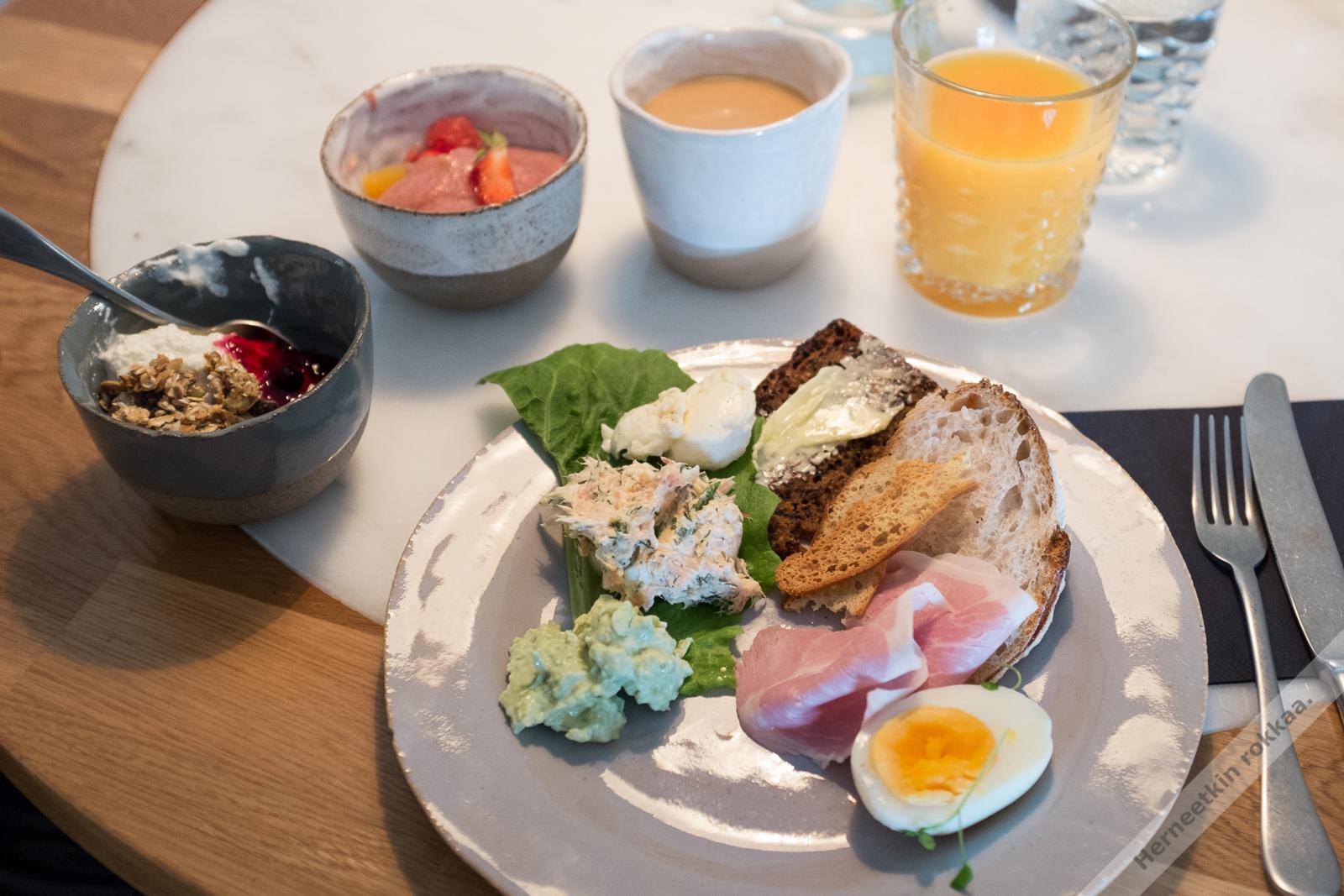 Aamiainen porvoo