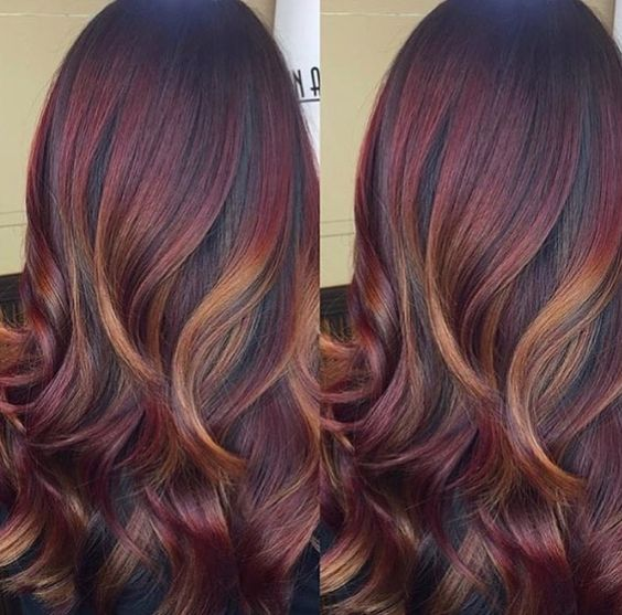 mahogany hair color inspiration hairstyles amp hair color