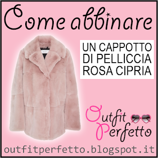 Come abbinare un CAPPOTTO DI PELLICCIA ROSA CIPRIA (outfit Autunno/Inverno)