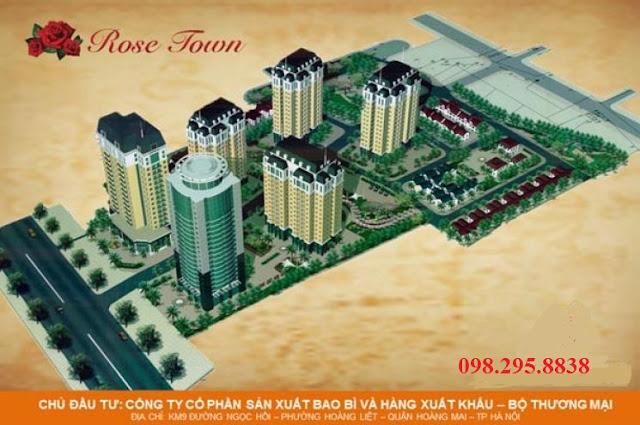 Quy hoạch dự án chung cư Rose Town