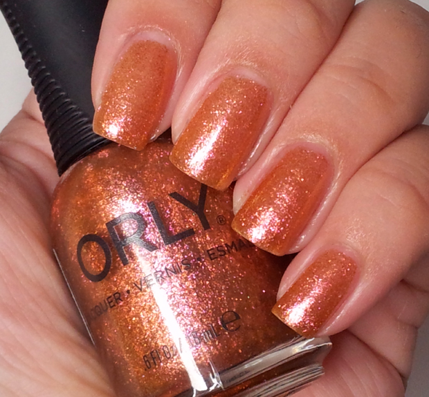 orly smoky - brush it on