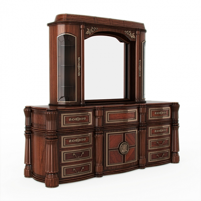 Solid wood cupboard furniture designs an interior design for Picture of furniture designs