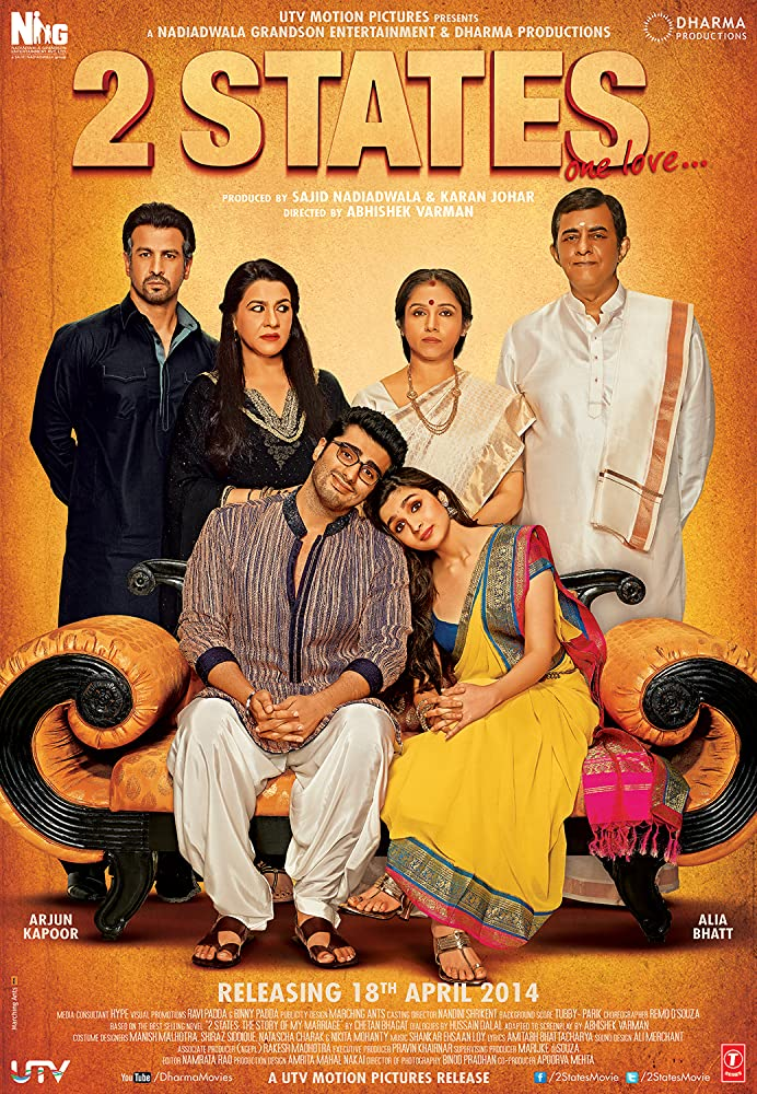 2 States (2014) Hindi 720p BluRay Full Movie Free Download