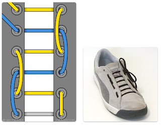 Model Tali Sepatu Hiking / Biking Licing