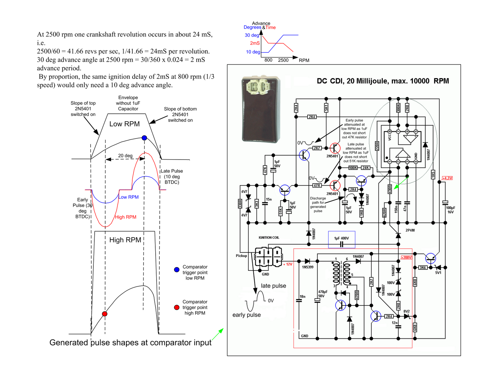 8 pin atv cdi box wiring diagram