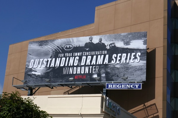Mindhunter season 1 Emmy consideration billboard
