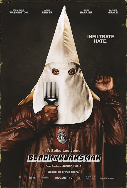 BlacKkKlansman 2018 movie poster