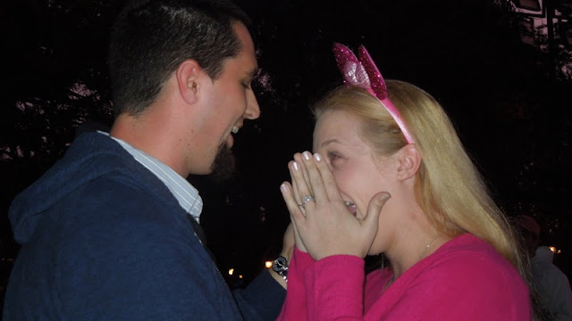 Real Disneyland Proposal - Mandy and Russell