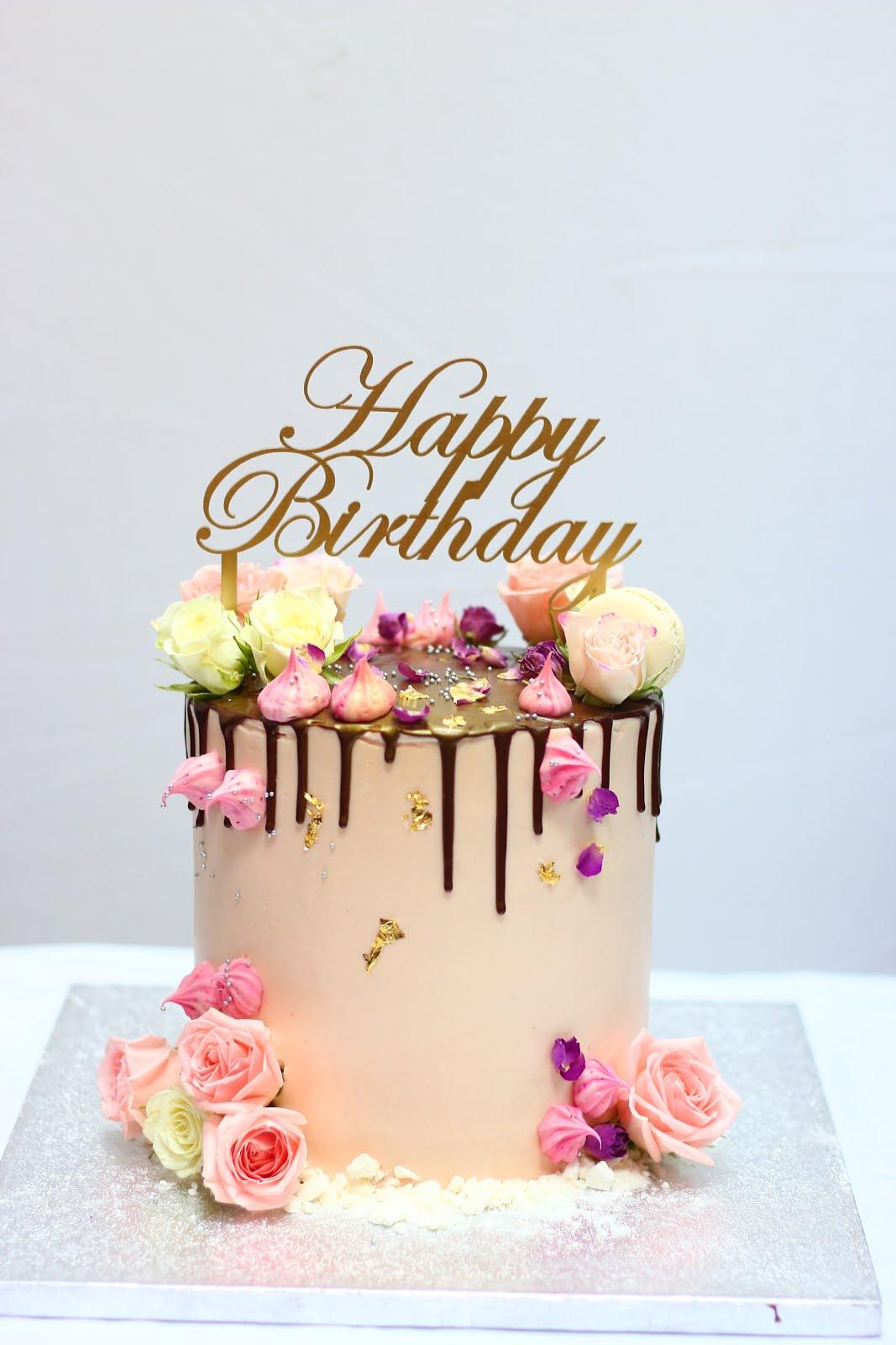 Reem S Cake Boutique Birthday Drip Cake